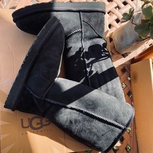 Ugg classic black tall boots